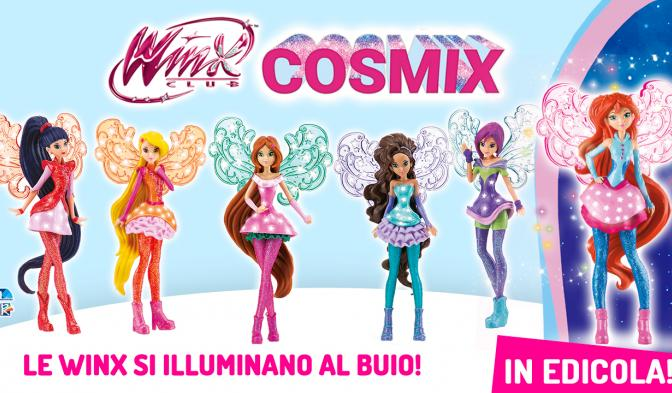 Scoprite la magia della collezione Winx Cosmix!
