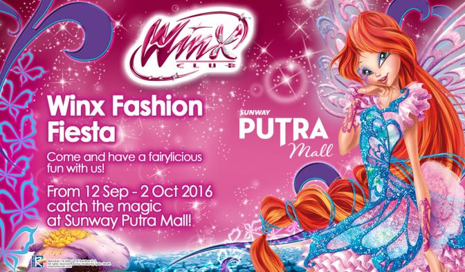 Don't miss the Winx event at Sunway Putra Mall!