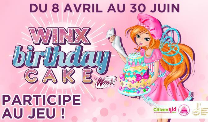 Concours Gâteau d'Anniversaire Winx