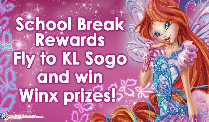 Fly to Sogo KL and win Winx prizes!