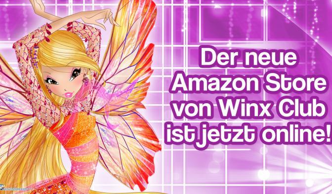 Endecke die magische Welt von Winx Club auf dem neuen Amazon Store!