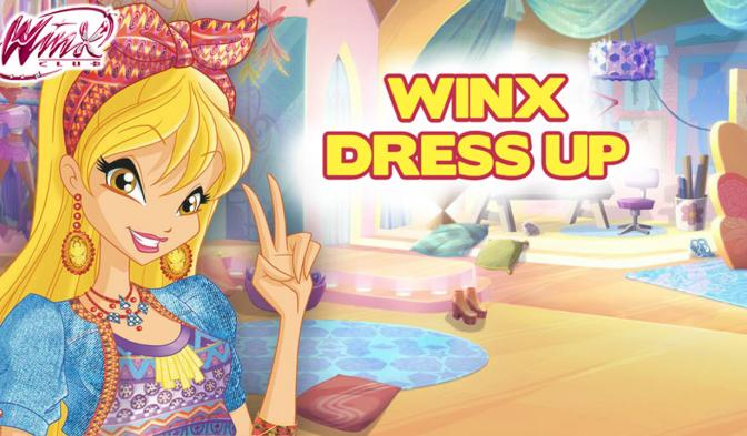 Winx Dress Up NL