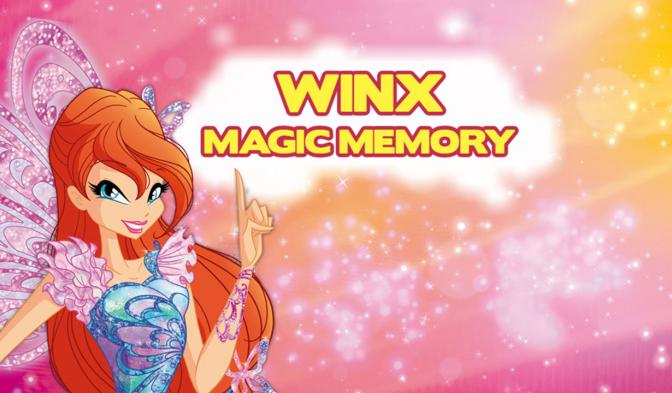 Winx Magic Memory NL